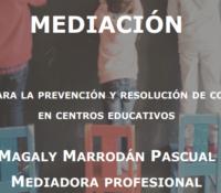 """JORNADA FORMATIVA: """"FORMACIÓN PARA LA PREVENCIÓN Y RESOLUCIÓN DE CONFLICTOS EN CENTROS EDUCATIVOS"""""""