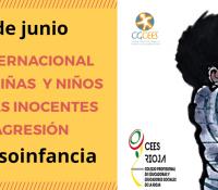 DÍA INTERNACIONAL DE LAS NIÑAS Y NIÑOS VÍCTIMAS INOCENTES DE AGRESIÓN